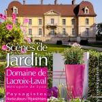 Paysage contemporain près de Lyon Rhône 69 Salon Scènes de jardin